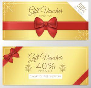Địa chỉ thiết kế và in voucher, phiếu quà tặng đẹp và chất lượng tốt nhất