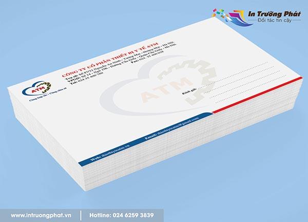 Phong bì Công ty cổ phần thiết bị y tế ATM