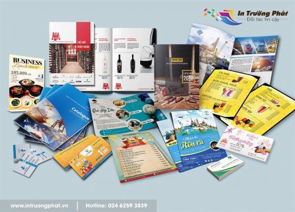 In Trường Phát nhận thiết kế, in ấn cho các công ty, doanh nghiệp.