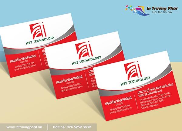 Card visit giám đốc Nguyễn Văn Phong