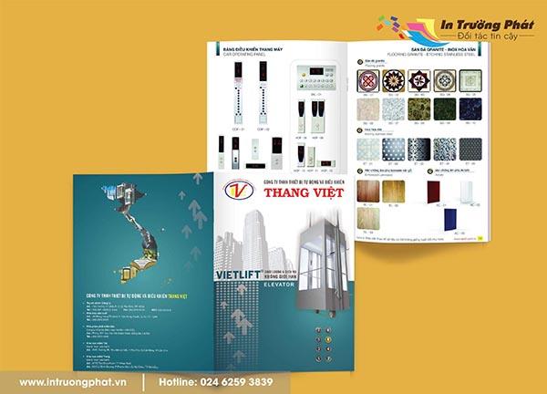 Catalogue  Công ty Thang Việt