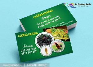 Dịch vụ in card visit tại khu vực Hoàng Quốc Việt