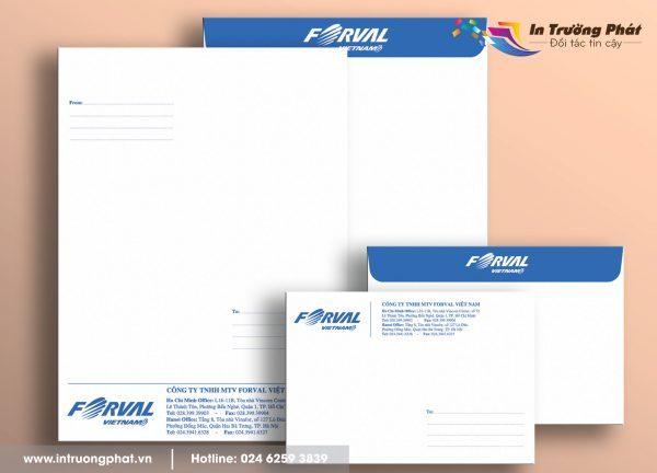 Thiết kế phong bì miễn phí cho khách hàng.