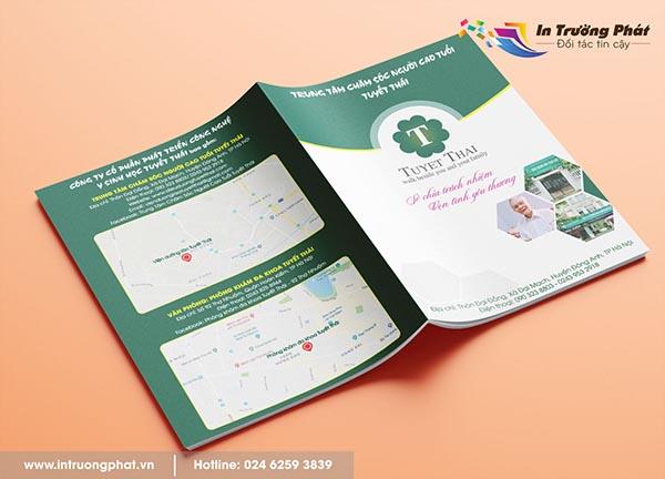 Catalogue Trung tâm chăm sóc người cao tuổi Tuyết Thái