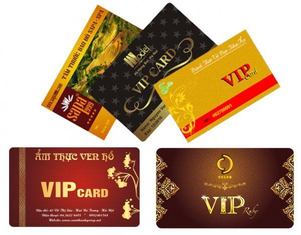 In thẻ VIP giá rẻ tại Hà Nội.