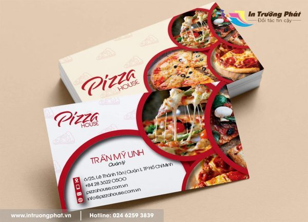 Card visit Pizza House