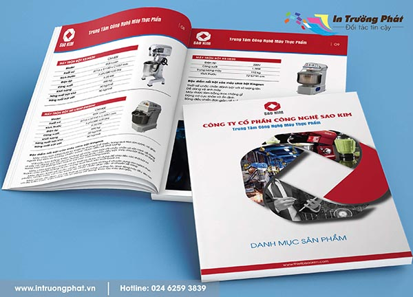 Catalogue Trung tâm Công nghệ máy thực phẩm