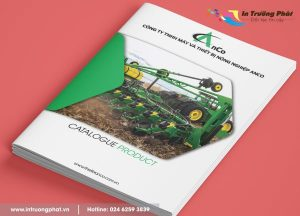 Dịch vụ thiết kế in ấn catalogue tại Hà Nội