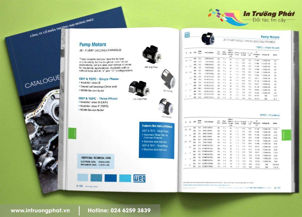 Catalogue Công ty Cổ phần thương mại Hoàng Phúc
