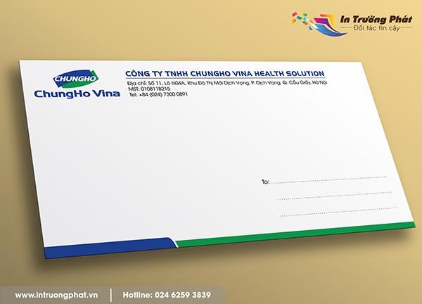 Phong bì Công ty TNHH Chungho Vina