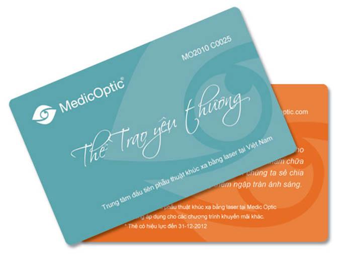 In thẻ từ Cho Công ty MedicOptic