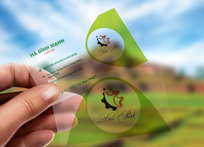 Thiết kế card visit đẹp, ấn tượng cho cá nhân, doanh nghiệp.