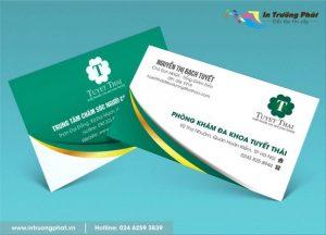 In card visit bền, đẹp cho doanh nghiệp
