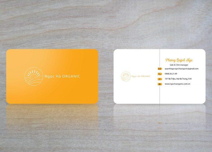Thẻ nhựa Ngọc Hà Organic