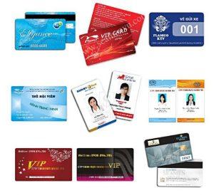 Khi nào cần phải in thẻ nhựa?