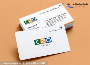 Công ty in card visit uy tín, chuyên nghiệp tại Hà Nội