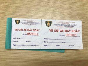 Dịch vụ in vé xe máy giá rẻ tại Hà Nội